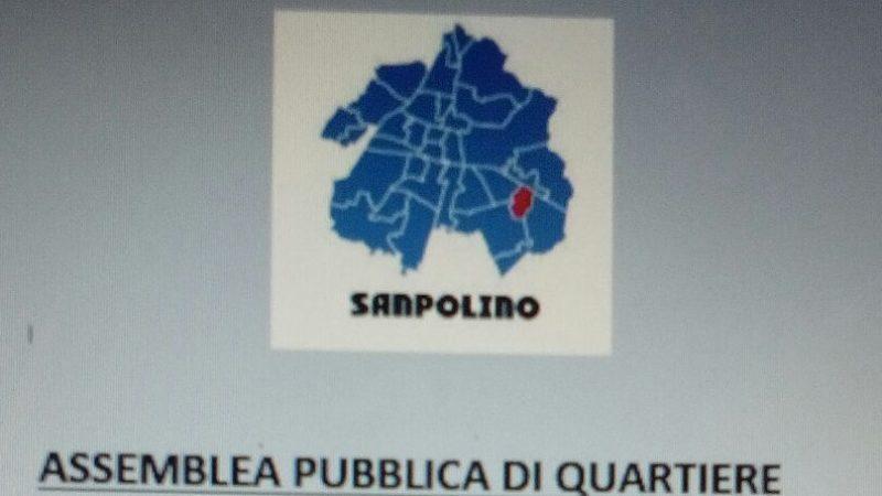 SANPOLINO: UN'ASSEMBLEA PUBBLICA PER IL FUTURO DEL QUARTIERE. DIRETTA IN STREAMING SULLA PAGINA FACEBOOK DI SANPOLINOLIVE